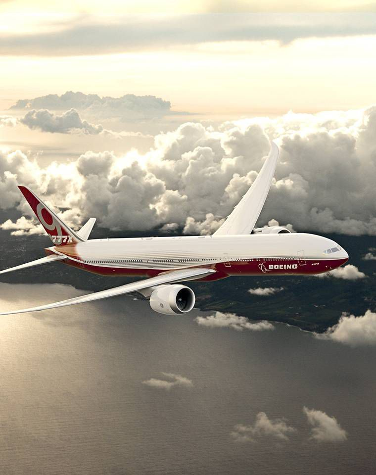 Boeing's new 777x planes have wings so wide they need to