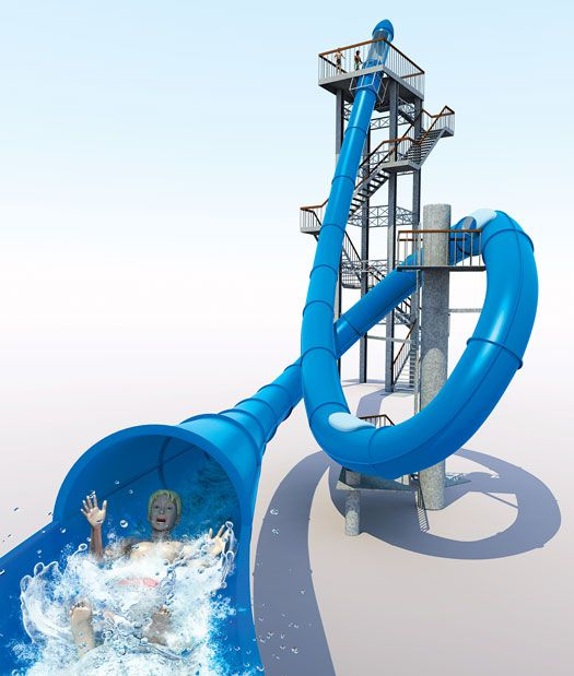 How it Works: A Computerized, Looping Waterslide   Popular