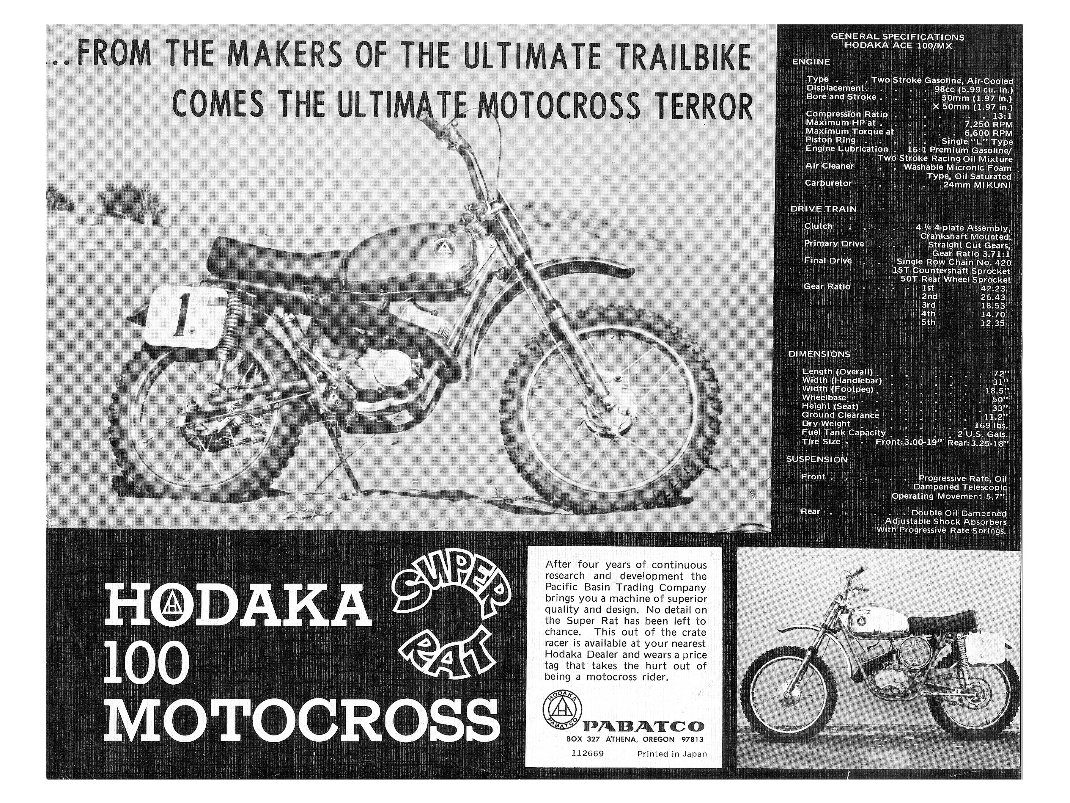 Roots: 1969 Hodaka Super Rat | Motorcyclist