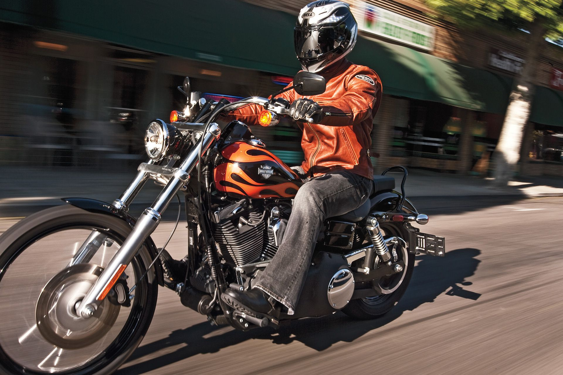 Harley-Davidson Wide Glide Cruiser Motorcycle Review Road Test