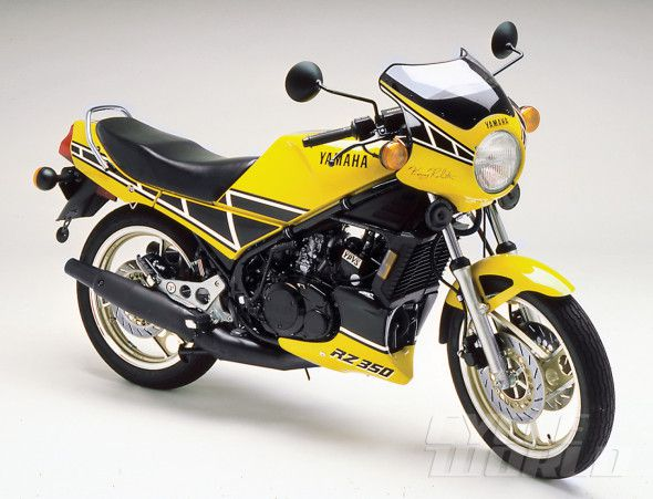 Yamaha RZ350, RD350LC Motorcycle History, CLASSICS