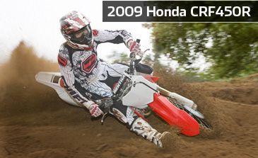 2009 Honda CRF450R - First Look | Cycle World