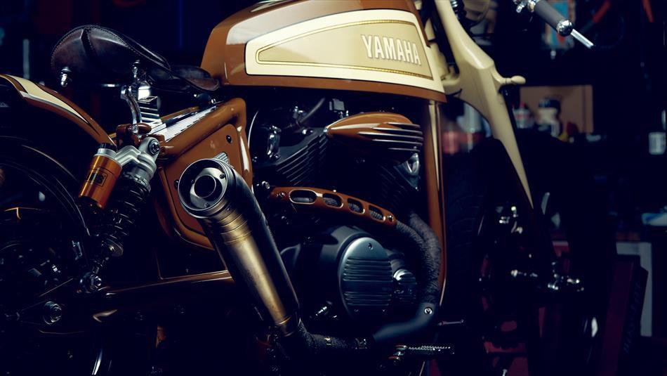 Playa Del Rey' Yamaha Bolt by Matt Black Customs