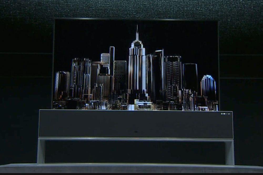 All the cool new stuff from CES 2019 day one: Fancy TVs
