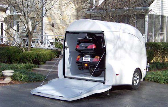 Ironhorse Trailers Offer A Line Of Enclosed Motorcycle And Trike