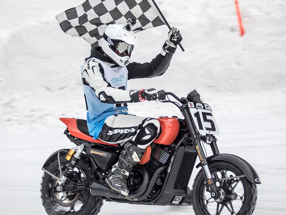 My First Time Racing A Harley-Davidson, And I Won | Cycle World
