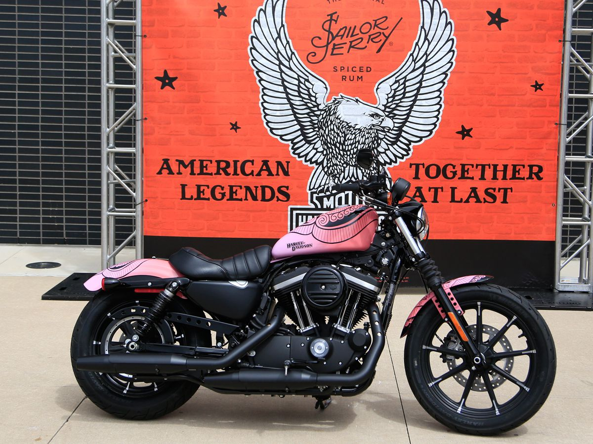 Sailor Jerry X Harley Davidson Custom Sportster Sweepstakes Motorcycle Cruiser