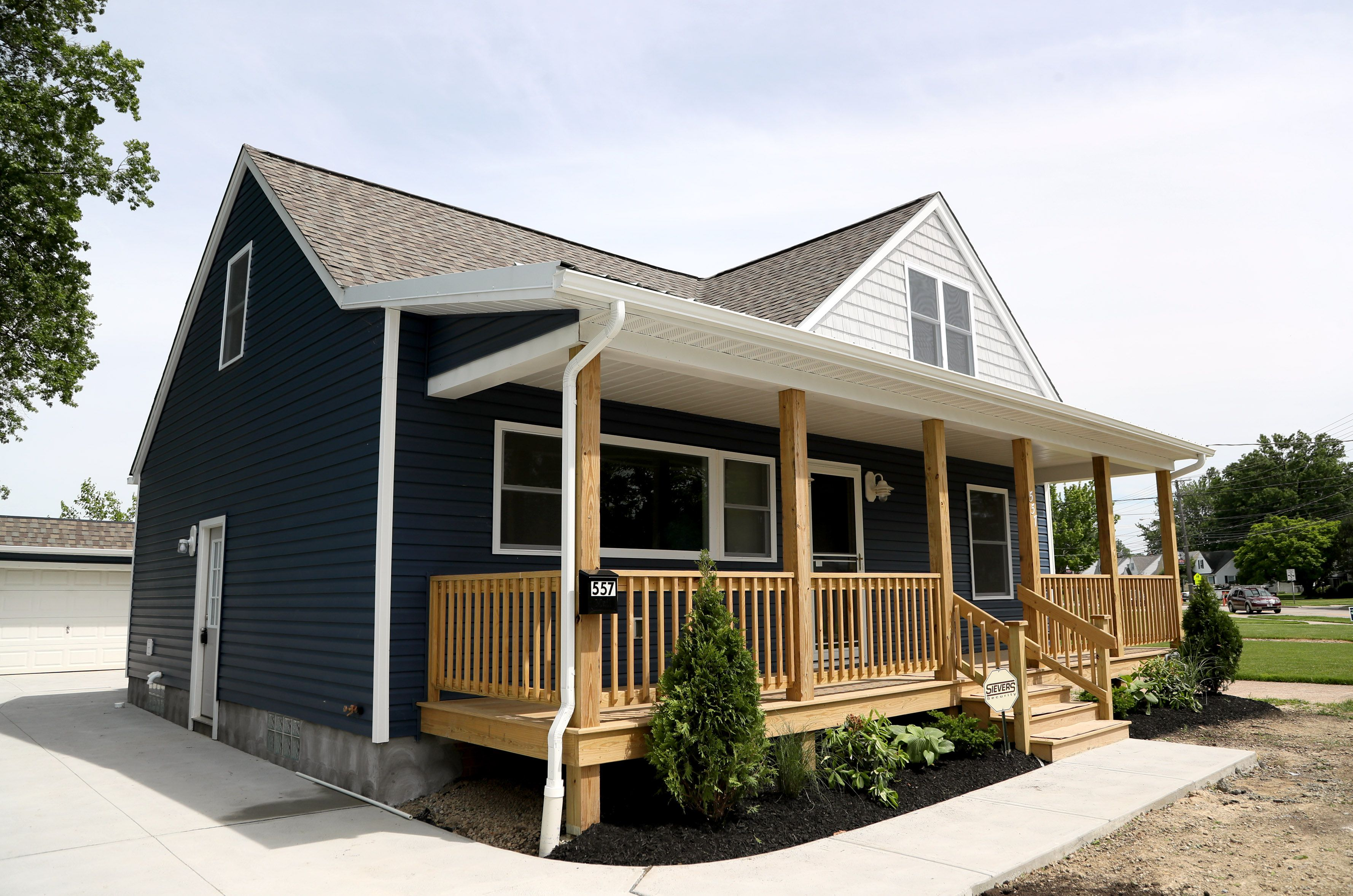 Lake County Port Authority remodels 1950s bungalow to spur ... on 1920 style home plans, 1950 home design, retro house plans, minimal traditional house plans, 1950 home interiors, 1950 style home plans,