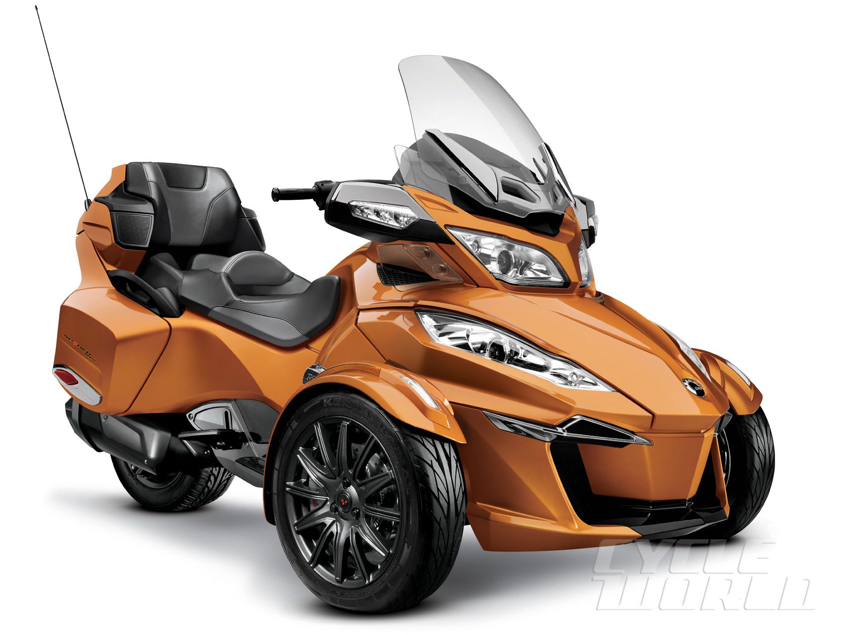 2014 Can-Am Spyder RT-S- Three-Wheel Touring Motorcycle