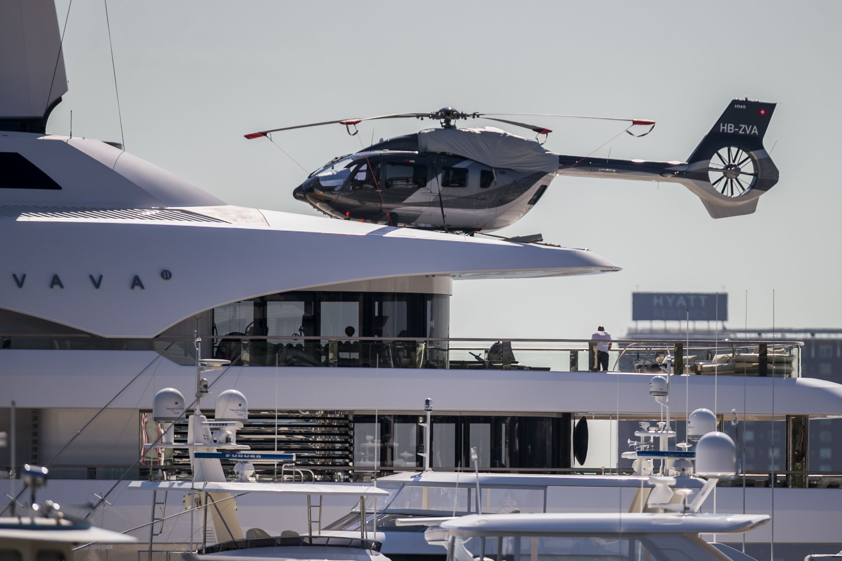 That's one big (and expensive) yacht: Vava II visits Boston - The