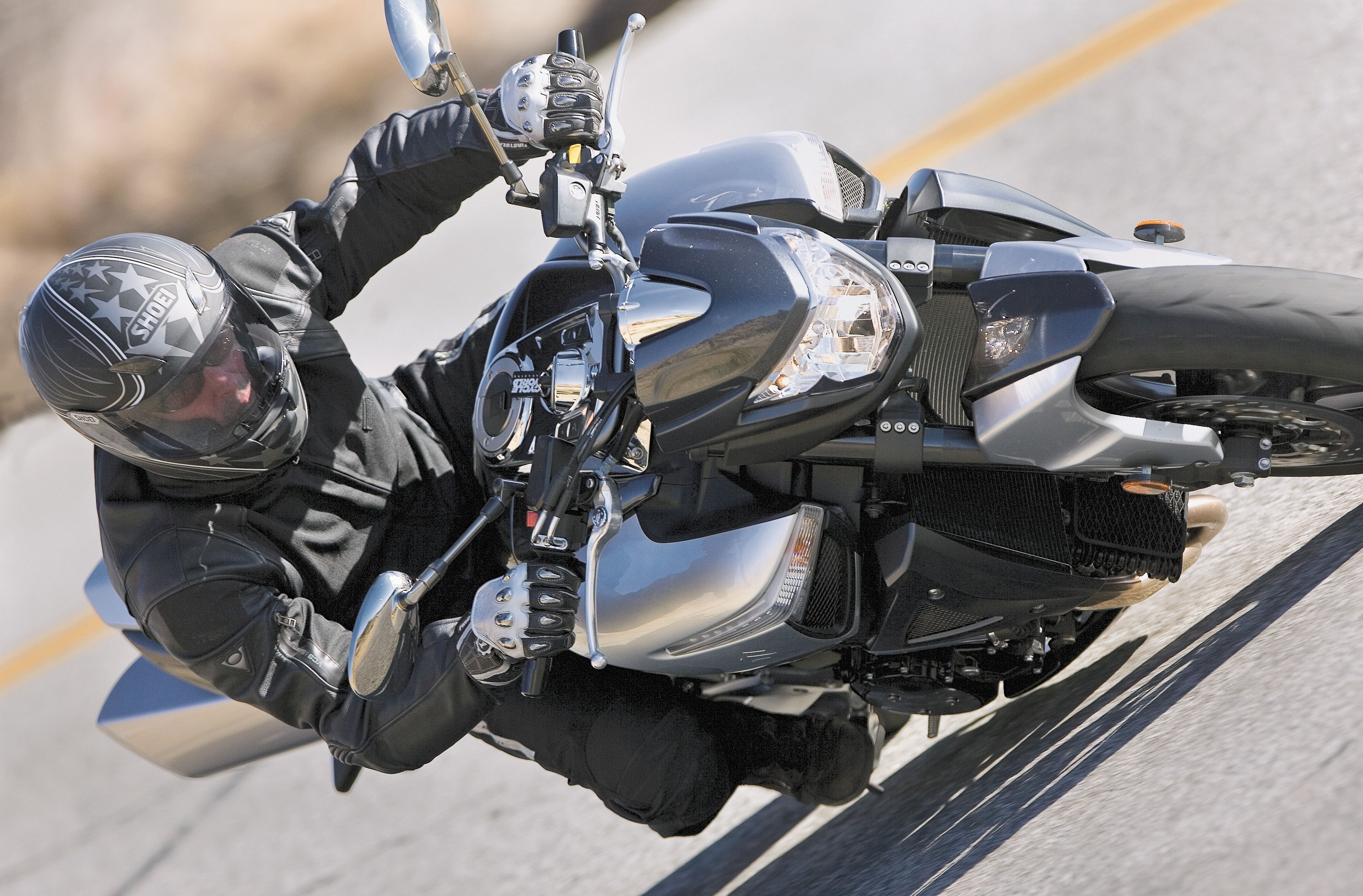 Suzuki B-King Naked Bike Motorcycle Review | Cycle World