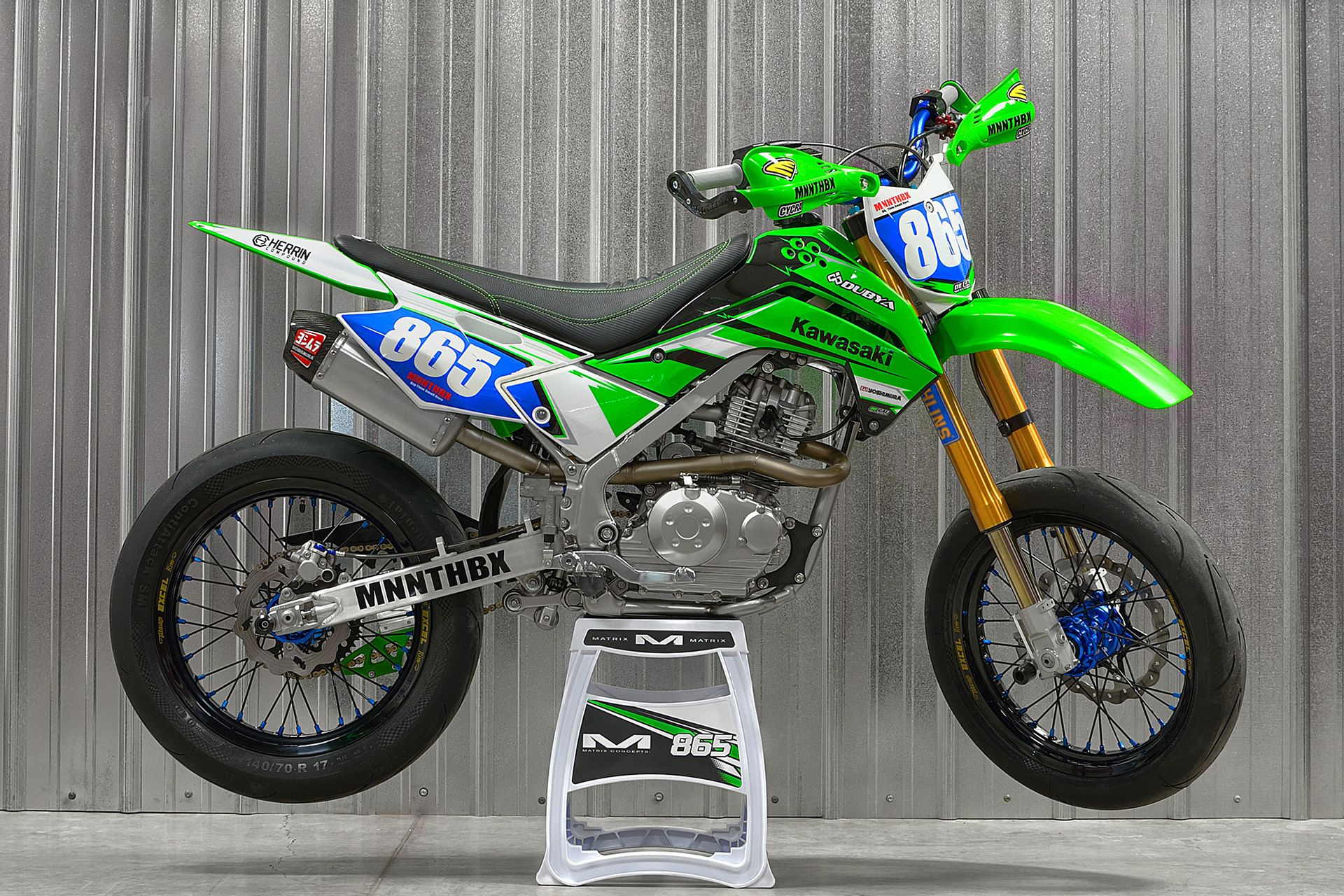 Fantastic Mnnthbx Upgrades A Kawasaki Klx140G To Destroy Backroads And Ocoug Best Dining Table And Chair Ideas Images Ocougorg