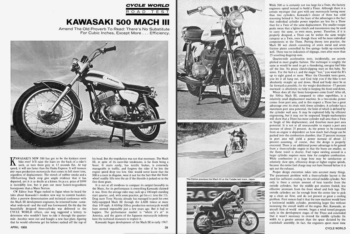 Kawasaki H1 Triple Motorcycle History, CLASSICS REMEMBERED