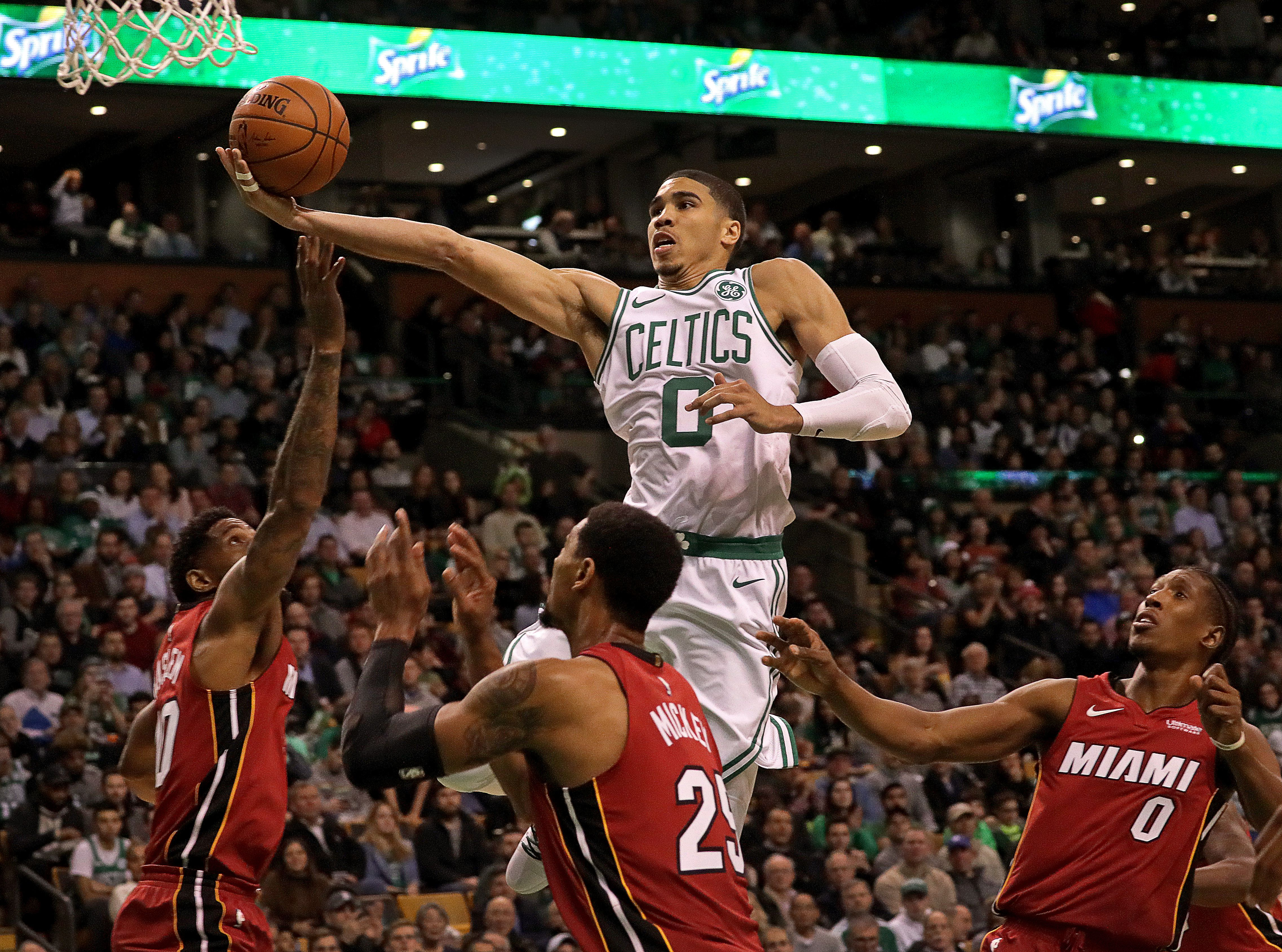 Brad Stevens Wants Jayson Tatum To Build On Rookie Of The Month Honor The Boston Globe