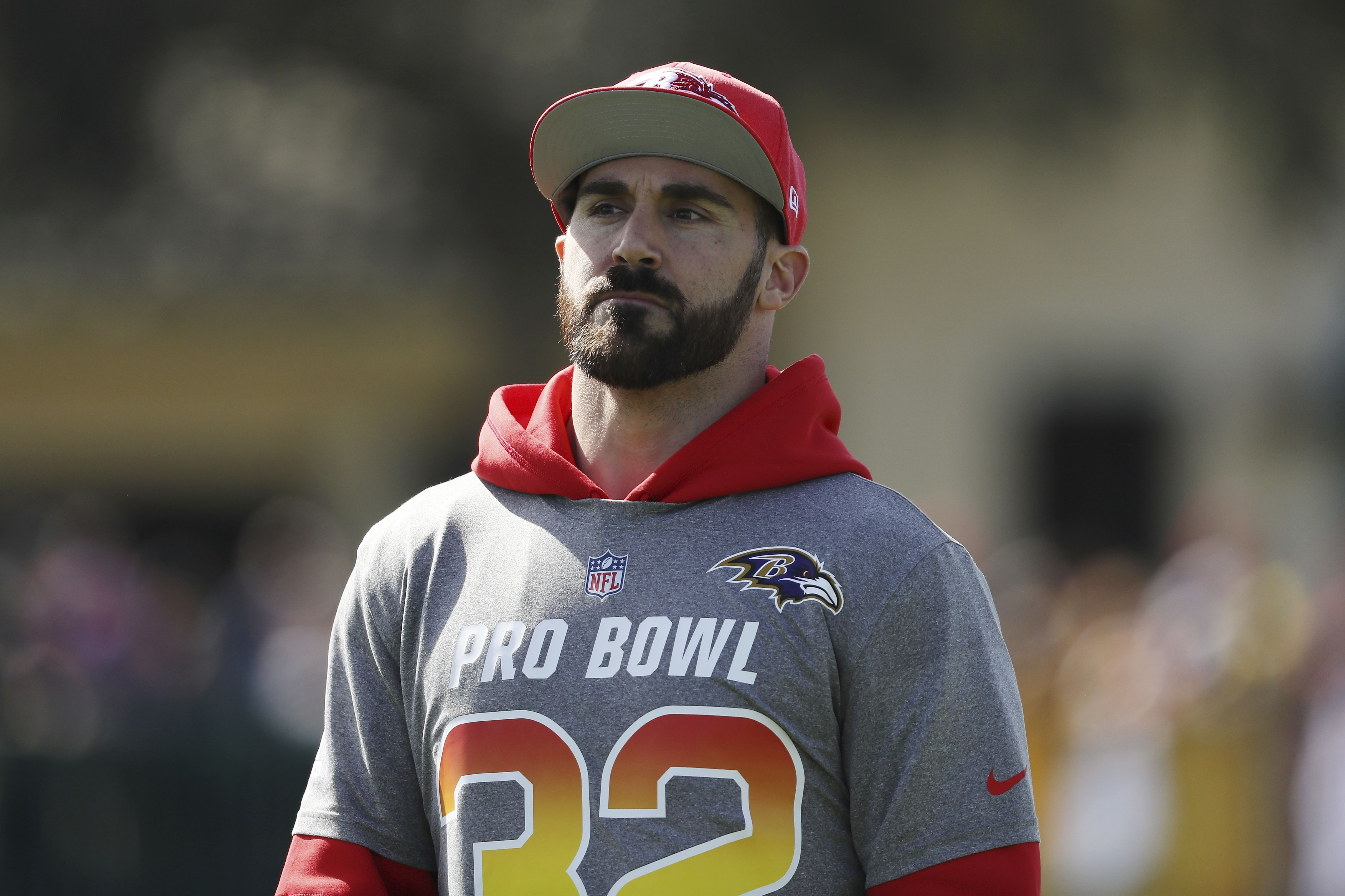 Former Baltimore Ravens safety Eric Weddle signs with Rams ...