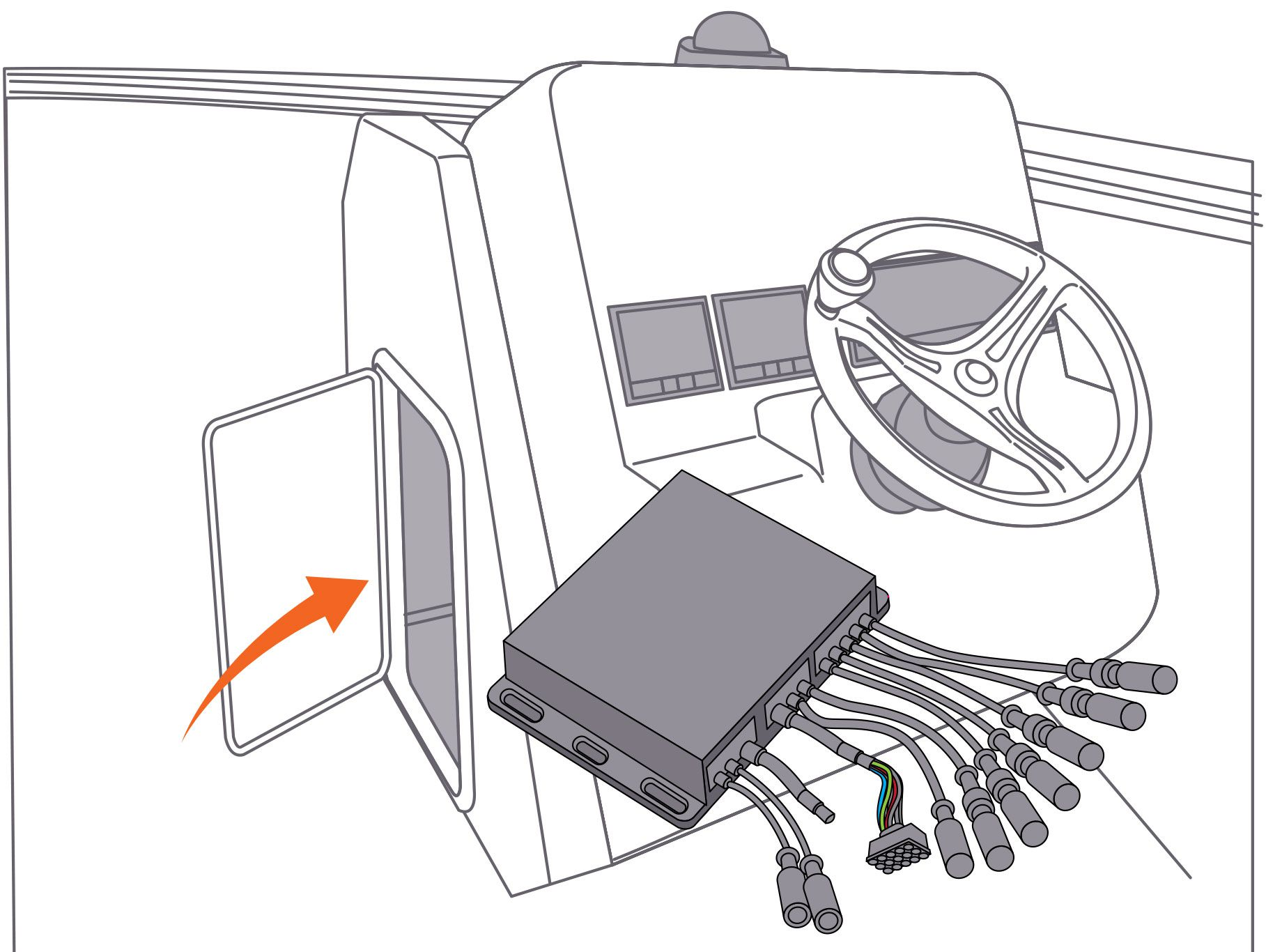 Marine Audio System Wiring Diagram