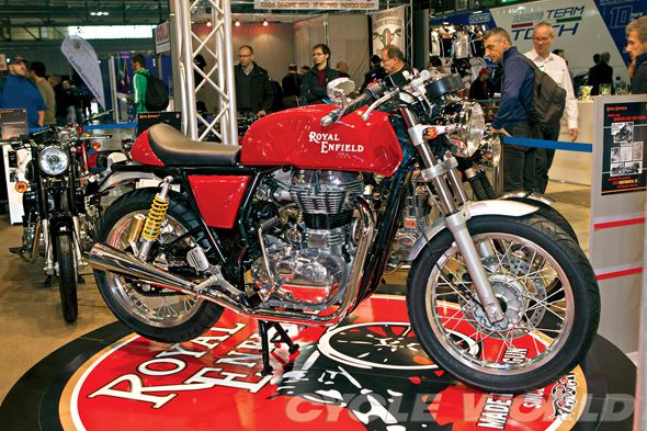 Royal Enfield Factory Cafe Racer- Motorcycle Industry News | Cycle World