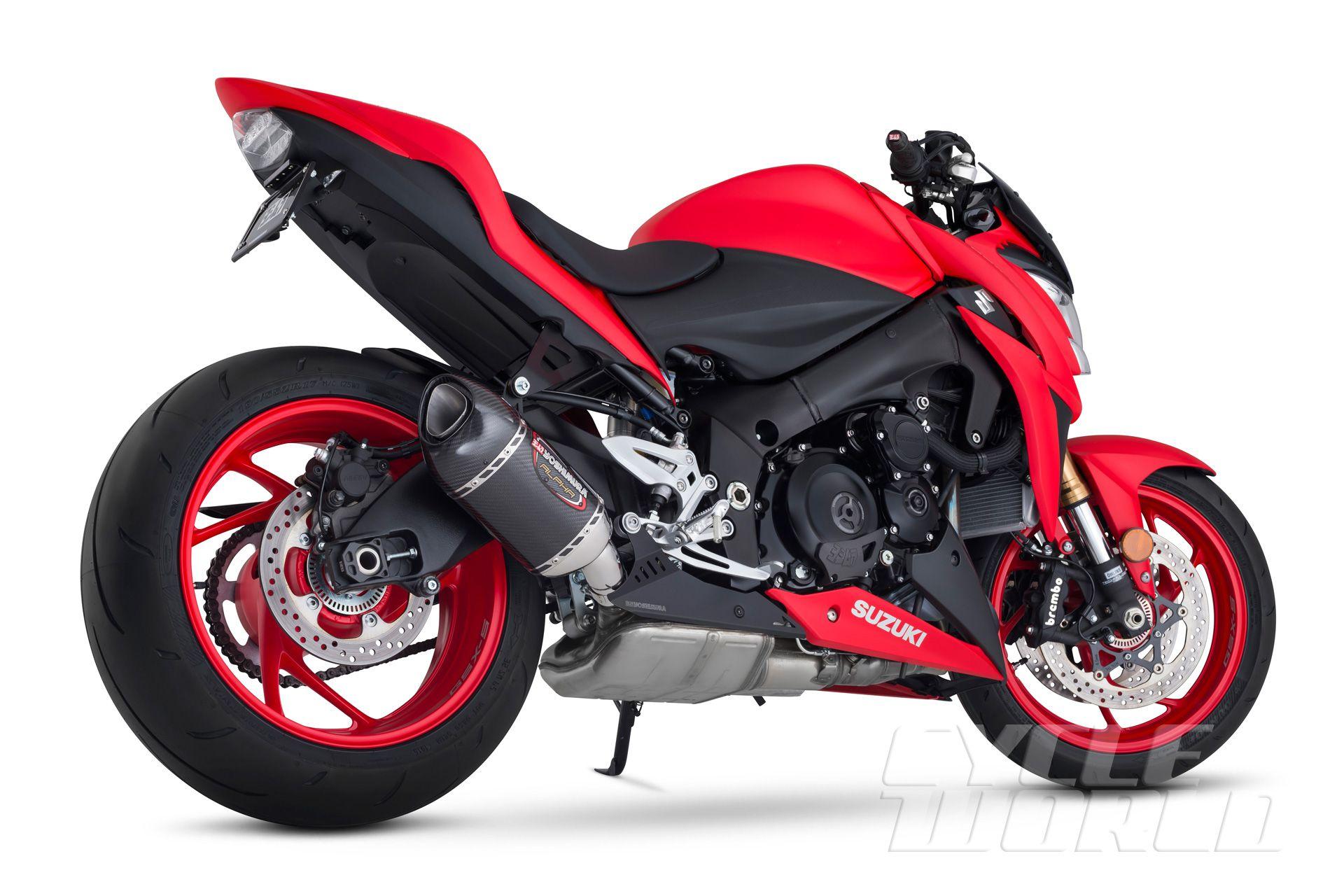 2016 Suzuki GSX-S1000 & GSX-S1000F Naked Motorcycles FIRST