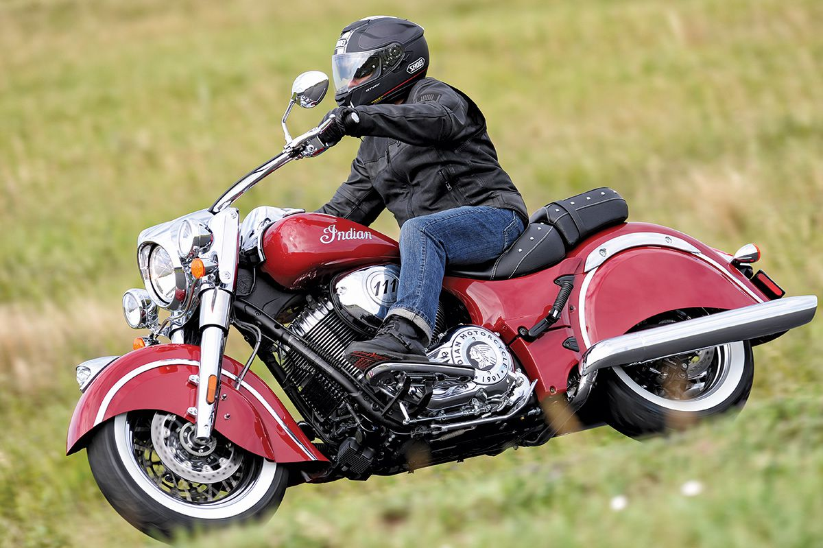 First Ride 2014 Indian Chief & Vintage   Motorcycle Cruiser