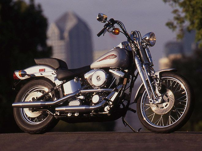 Riding Impression of the 1999 Harley-Davidson FXSTS Springer