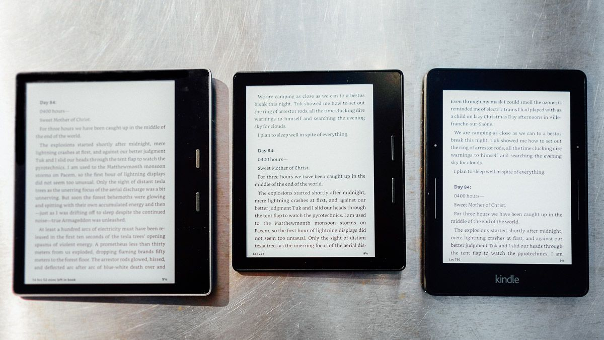 Kindle Oasis 7-inch review: tougher, smarter, and not for