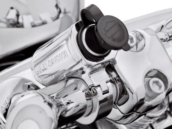 Get Plugged In With The New Harley Davidson Handlebar Power Port