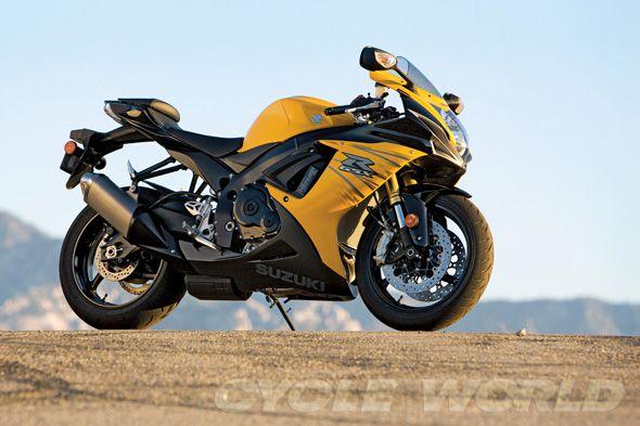 Suzuki GSX-R750- Middleweight Motorcycles | Cycle World
