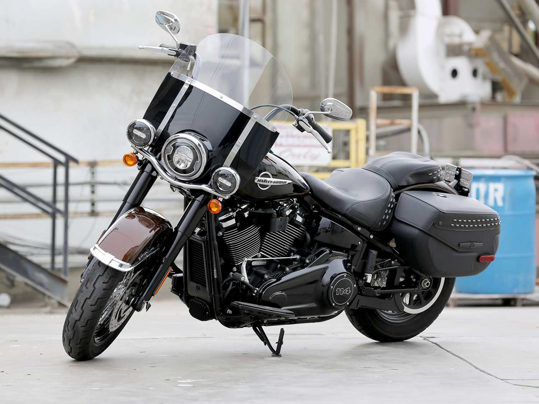 2019 Harley-Davidson Softail Heritage Classic 114