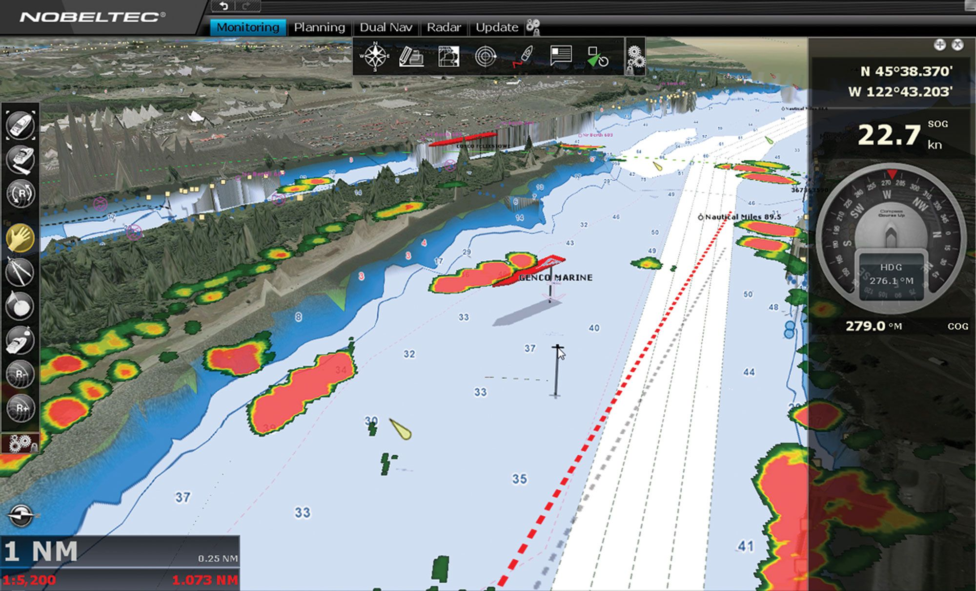 PC Planning Software for Marine Electronics Improves Fishing