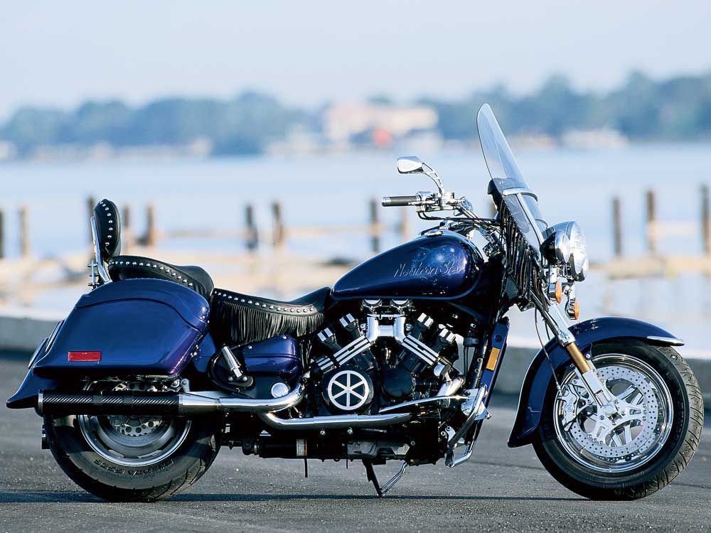 A Custom Yamaha Royal Star With The Heart Of A V-Max | Motorcycle