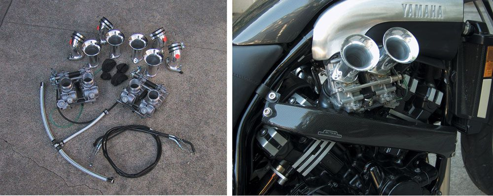 Adding More Power to the V-Max Project Bike | Motorcycle Cruiser