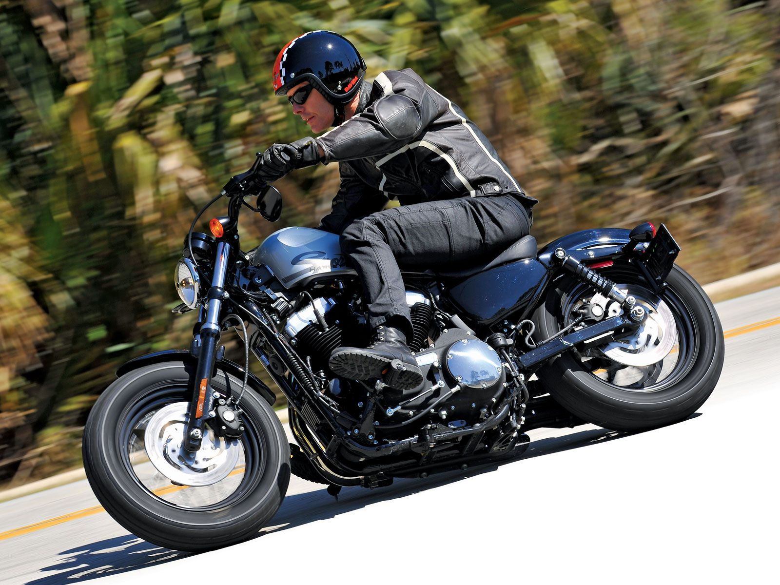 Harley Davidson Sportster Forty Eight Motorcyclist
