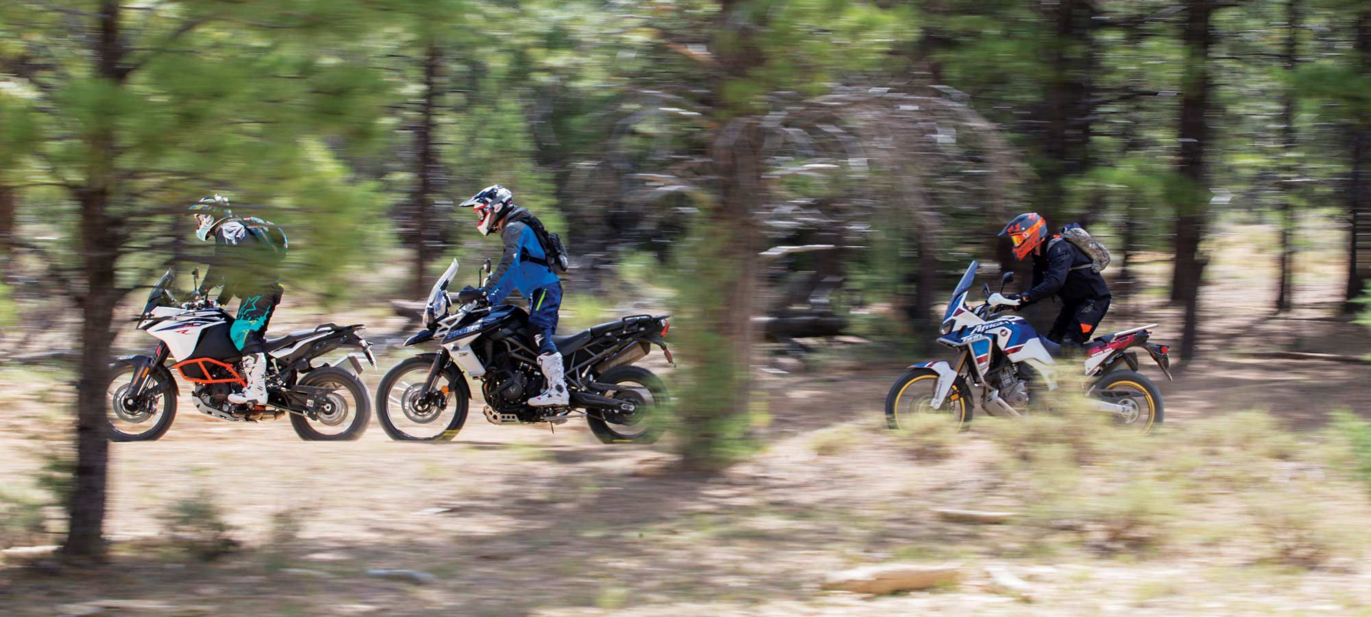 Midsize Adventure Off-Road Shootout | Cycle World