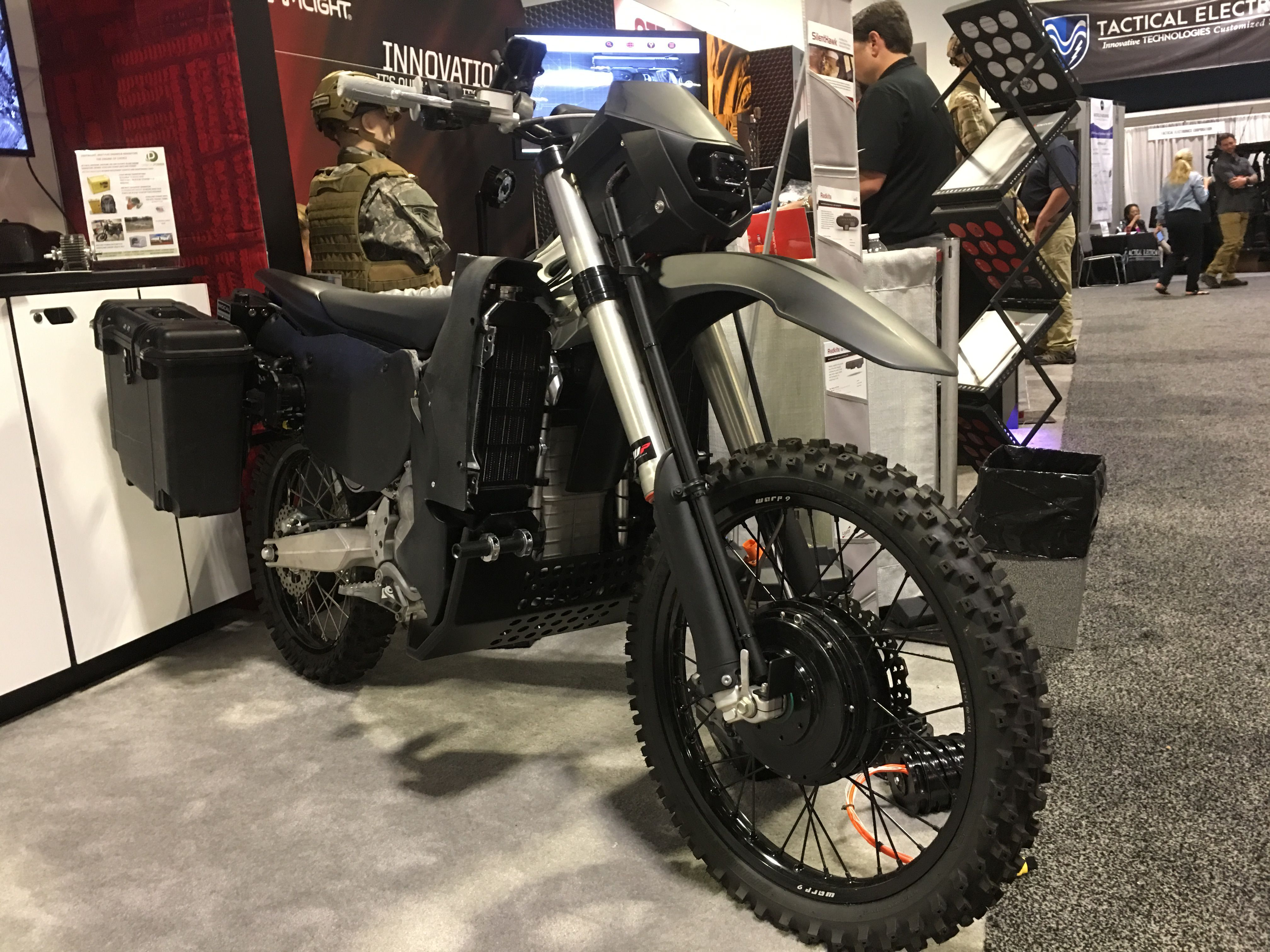 Special forces are getting a stealth motorcycle that's silent and