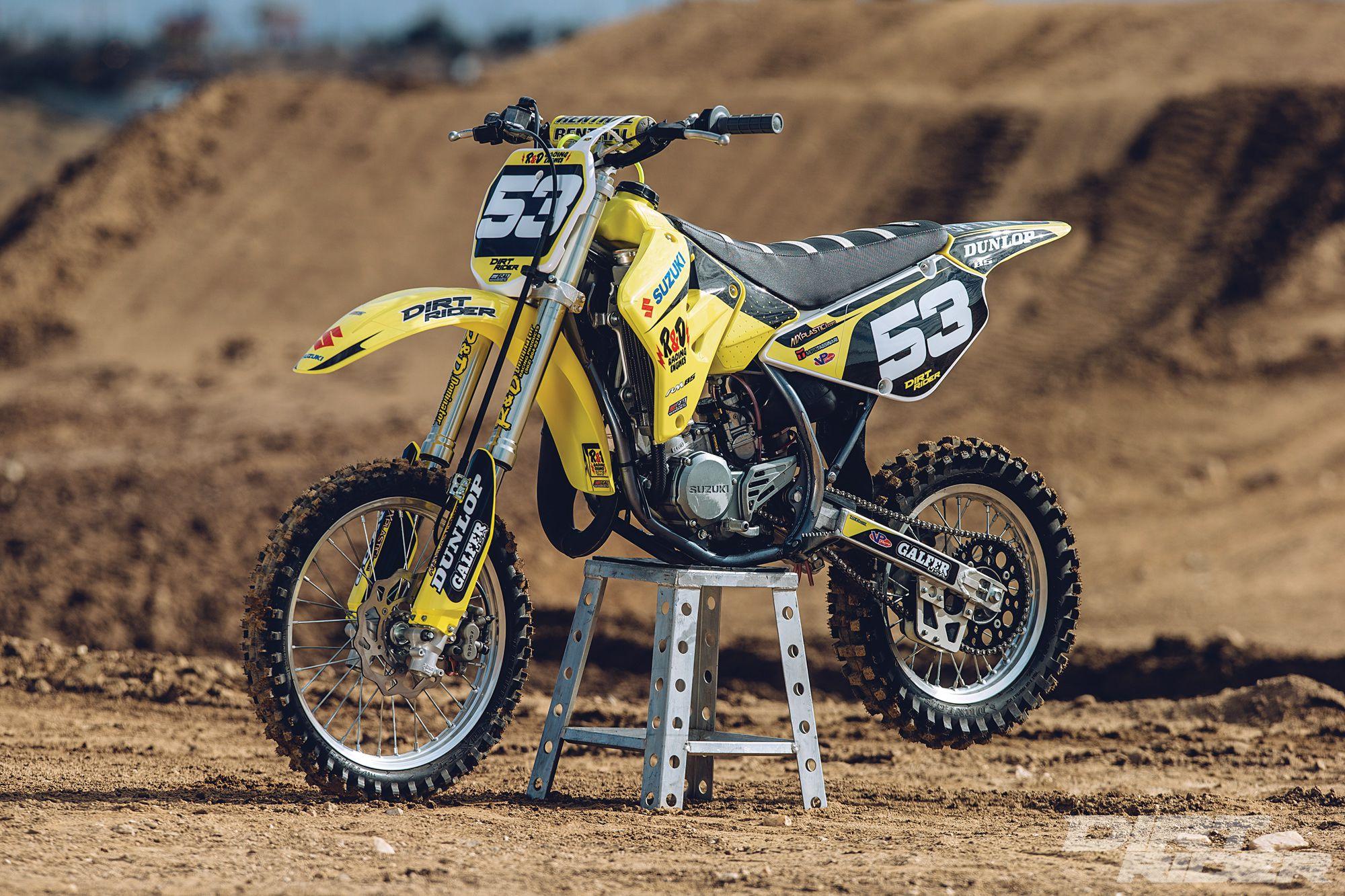 2016 Suzuki RM85 Factory R&D Project Bike | Dirt Rider