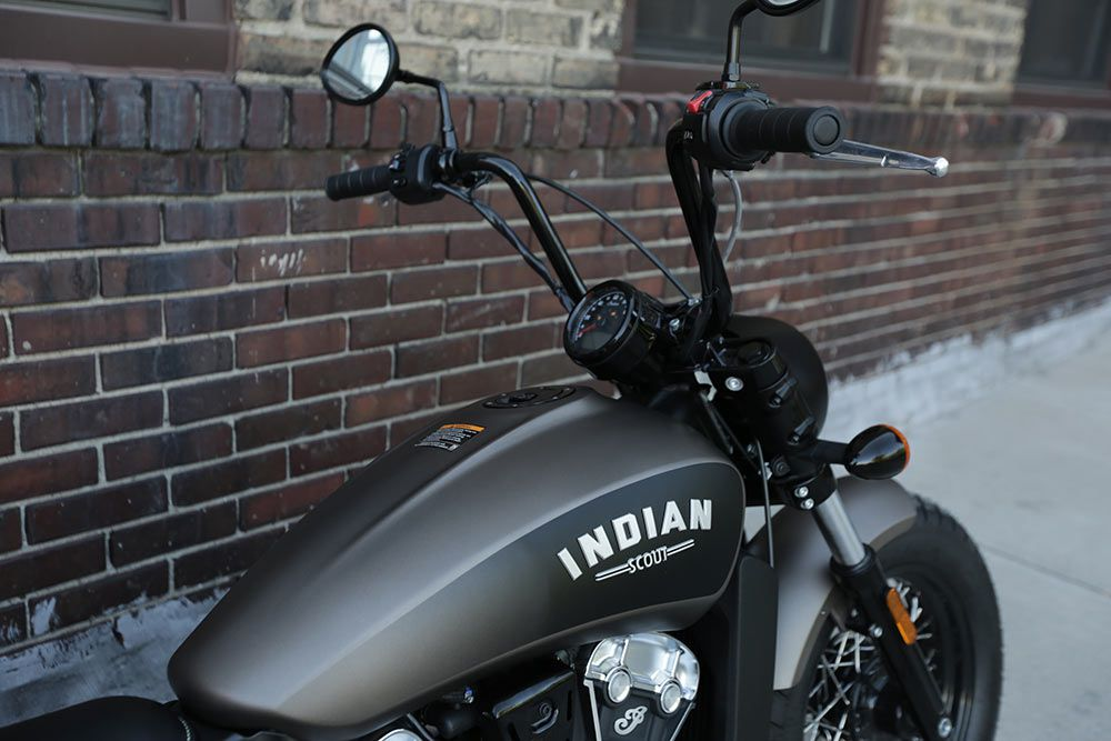 2018 Indian Scout Bobber With Indian Accessories Gallery