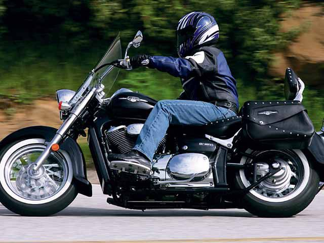 Great Eights: Suzuki Boulevard C50T and M50 Motorcycle Tests