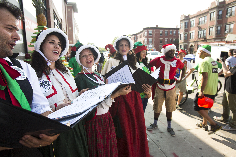 Allston Christmas.Twas Allston Christmas In August The Boston Globe