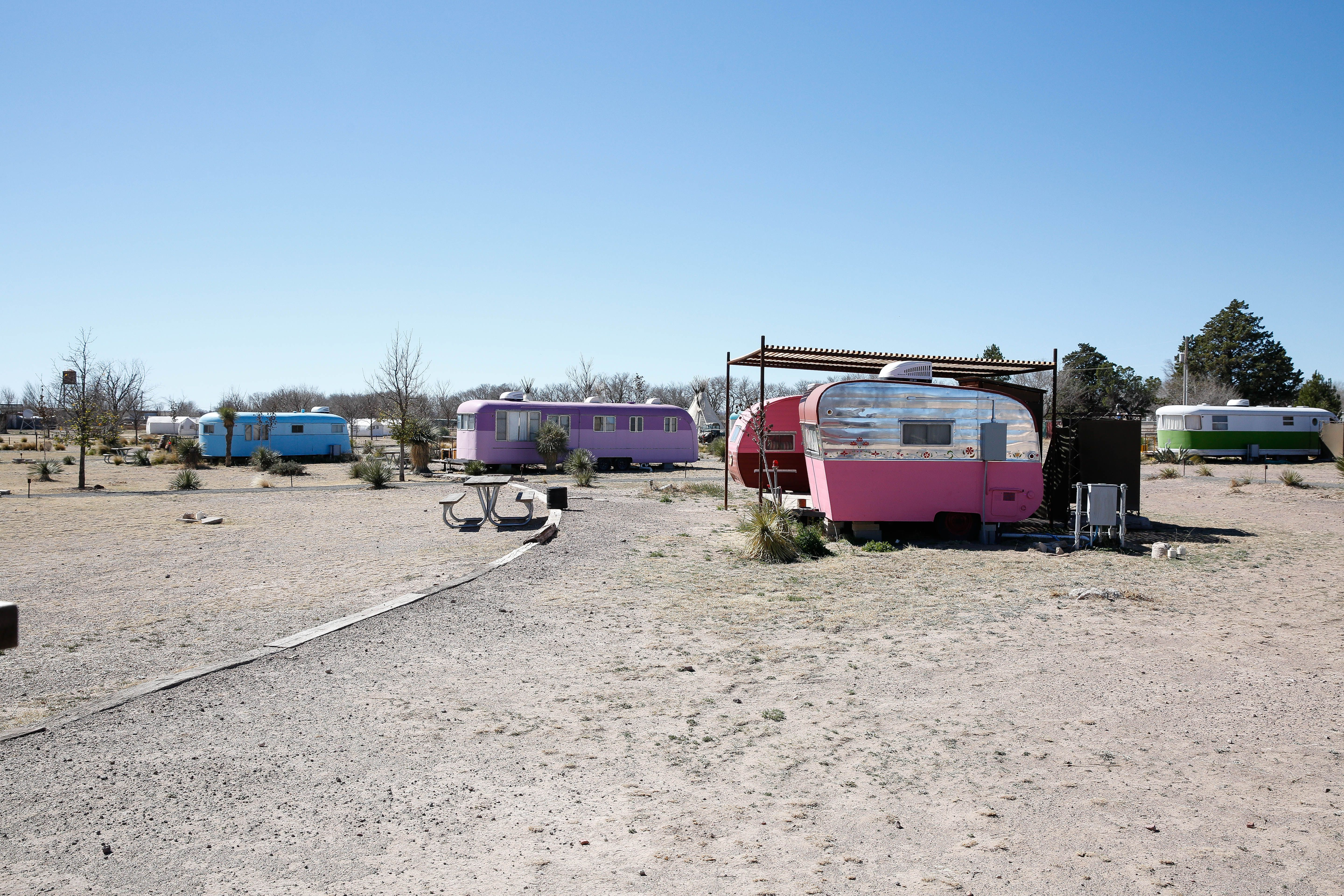 El Cosmico, the Gorgeous Trailer-Themed Hotel in Marfa