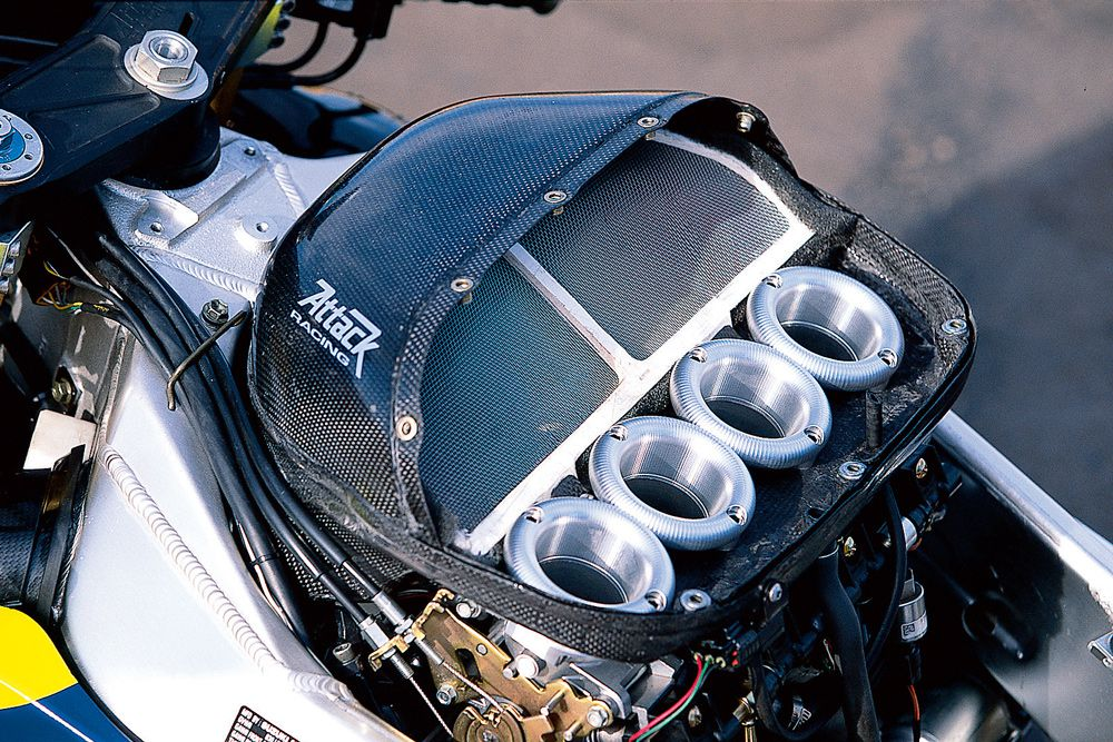 Hanging On For Dear Life Aboard Attack Racing's Suzuki GSX-R1000