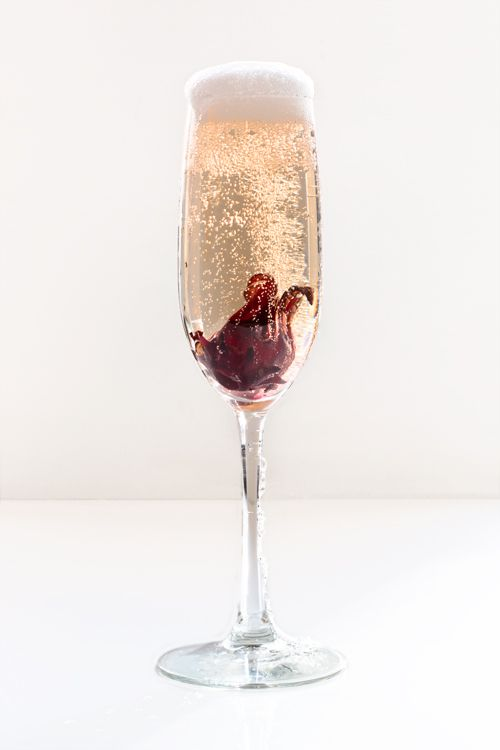 Blooming Champagne Cocktail Recipe Saveur