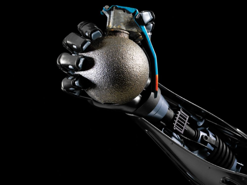 We're told to fear robots  But why do we think they'll turn