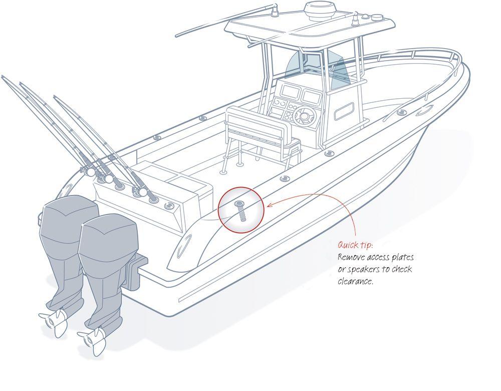 Adding Gunwale Rod Holders   Boating Magazine