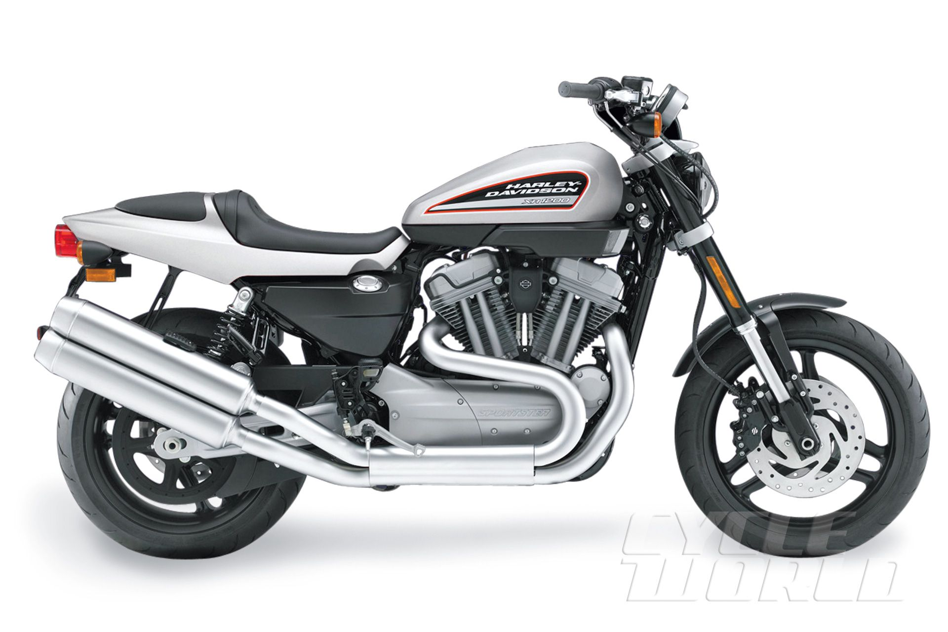Harley-Davidson XR1200 vs  Ducati Sport 1000 COMPARISON TEST