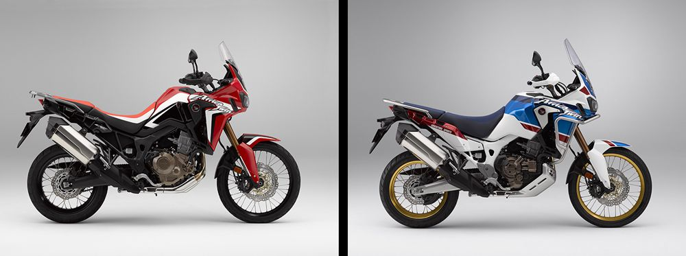 2018 Honda Africa Twin Vs 2018 Honda Africa Twin Adventure Sports Cycle World