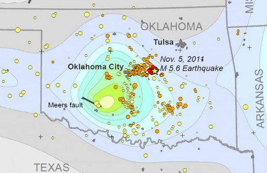 Study: Wastewater Injection Caused Oklahoma\'s Largest-Ever ...