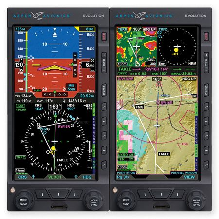 Aspen Displays Now Interface with Garmin ADS-B | Flying
