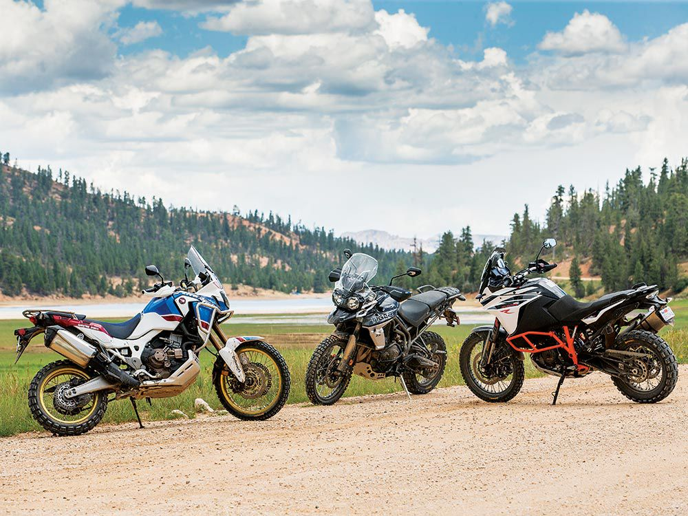 Midsize Adventure Off Road Shootout Cycle World