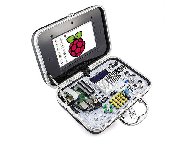 This kit helps you build a Raspberry Pi-powered laptop and more fun