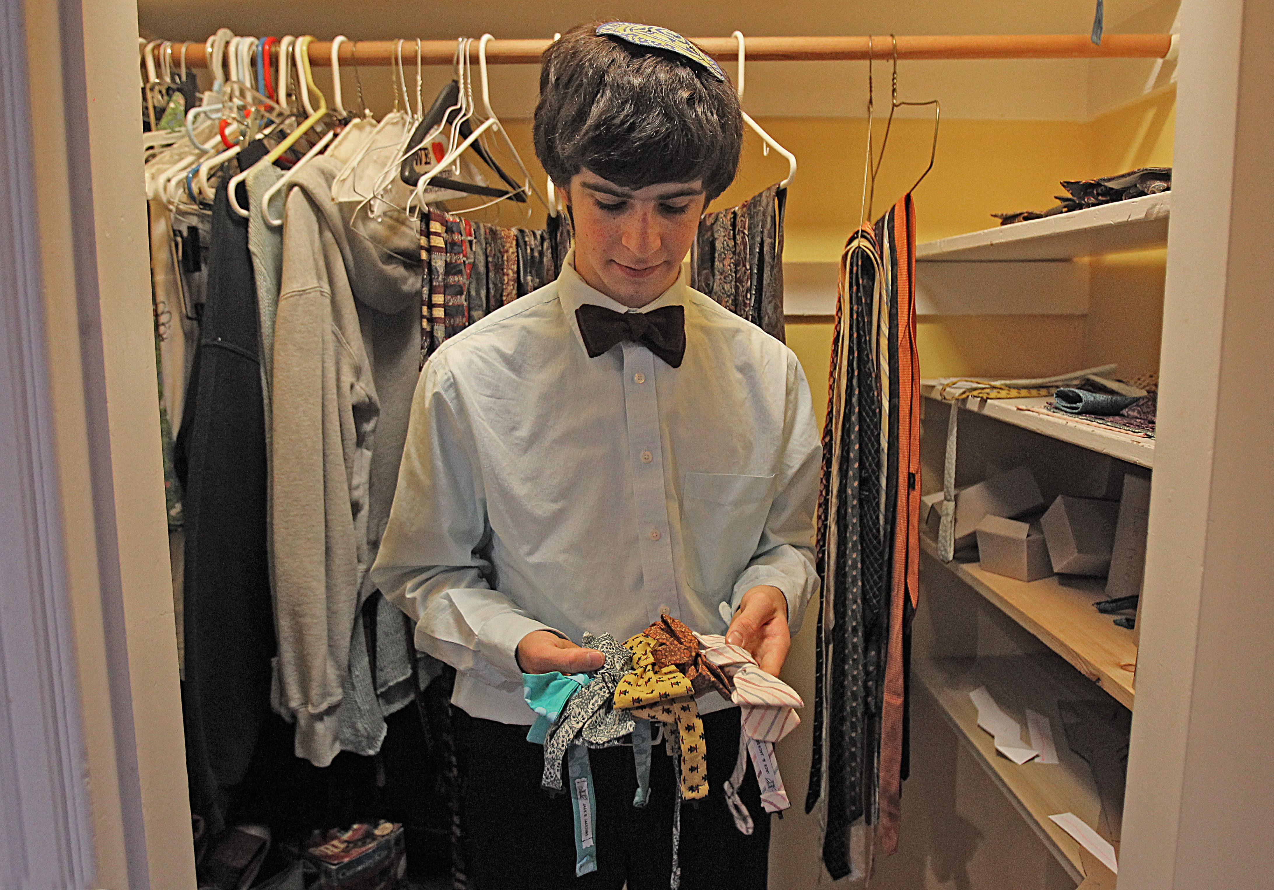 acd6c02a00f2 Teens' bow tie business blossoms - The Boston Globe